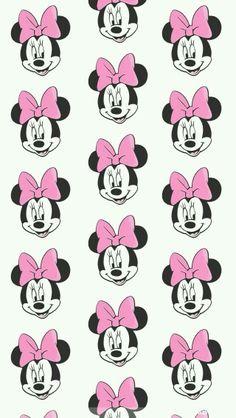 wallpaper minnie kawaii cute pink