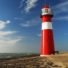 ✭ Lighthouse at Westkapelle, Netherlands.