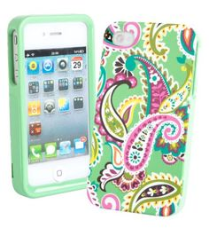 This Vera Bradley case reminds me of springtime. I also have a lunch box just like this