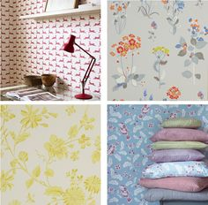 Brightwood wallpapers from Jane Churchill
