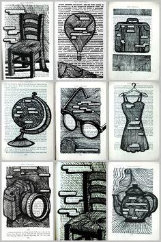 Poetry + Art Project... Love it!  arteascuola: WORKS