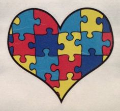 autism heart tattoos for women   image unavailable image not available for color sorry this item is not ...