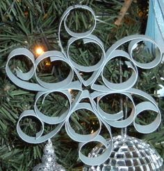 Potatoez n 'Pineconez: Árbol de navidad de papel Adornos