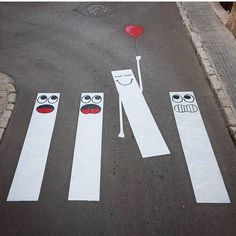 Interventi sulla strada a Parigi: arte di strada di Oakoak (24 foto)   Kenga Rex   Pagina 2
