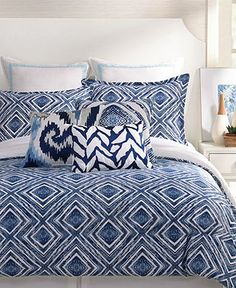 Trina Turk Silver Lake Comforter and Duvet Cover Sets - Bedding Collections - Bed & Bath - Macy's