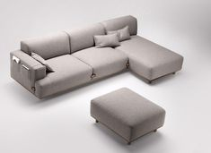 Duffle Sofa by Samuel Accoceberry for BOSC Sofa Seats, Lounge Sofa, Couches, Settee Sofa, Armchair, Sofa Furniture, Furniture Design, Modern Sofa Designs, Living Room Sofa Design