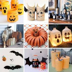 try these diy ideas for some recycled halloween decorations httpswww - Recycled Halloween Decorations