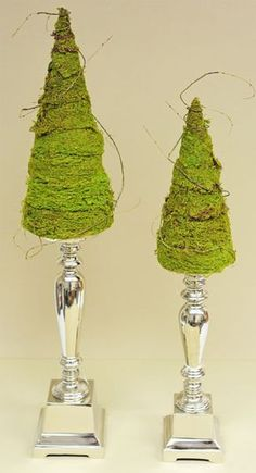 Ben Franklin Crafts & Frame Shop: D.I.Y. Decorative Moss Tree. This moss will fade drastically in sunlight.
