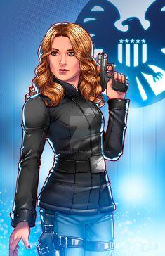 Agent 13 by JamieFayX.deviantart.com on @DeviantArt