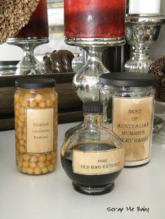 love me some potion bottles....