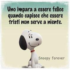 Snoopy ha ragione.
