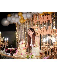 Cute Birthday Pictures, Birthday Photos, Birthday Decorations At Home, Happy Birthday Best Friend, Maya Ali, Birthday Wishes Quotes, Adult Birthday Party, Birthday Photography, Bday Girl