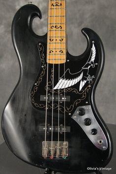 1977 Ibanez BLACK EAGLE Bass