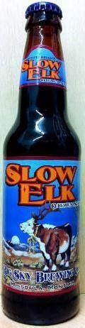 Big Sky Slow Elk Oatmeal Stout