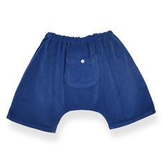 Children clothes, Trousers Sirwal Plain royal blue stretch corduroy, Alice à Paris