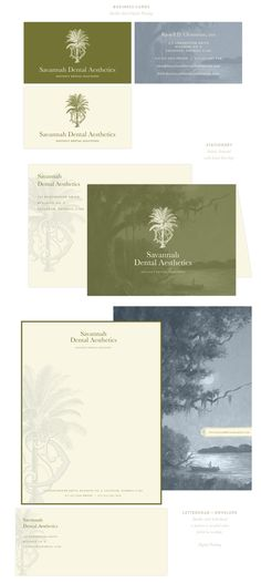 Branding Design for Savannah Dental Aesthetic | Branding, Logo, Dentist Branding  |  www.EmilyMcCarthy.com