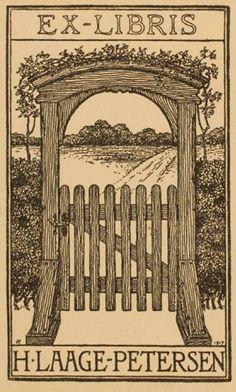 ≡ Bookplate Estate ≡ vintage ex libris labels︱artful book plates - 1917