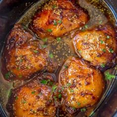 Slow Cooker Brown Sugar Garlic Chicken made with just five ingredients, you can . Slow Cooker Brown Sugar Garlic Chicken made with just five ingredients, you can set it in minutes and have the perfect weeknight meal! Crock Pot Recipes, Crock Pot Cooking, Slow Cooker Recipes, Cooking Recipes, Crock Pots, Cooking Games, 5 Ingredient Crockpot Recipes, Slow Cooker Dinners, Healthy Recipes