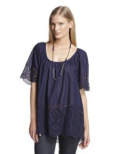 50% OFF French Connection Women's Lady Solitude Top (Blue Blood)