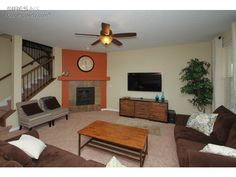 See this home on Redfin! 8438 Violet Ct, Arvada, CO 80007 like the slipper chairs  #FoundOnRedfin