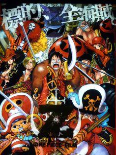 Dedicado al gran anime One Piece¡¡¡¡¡