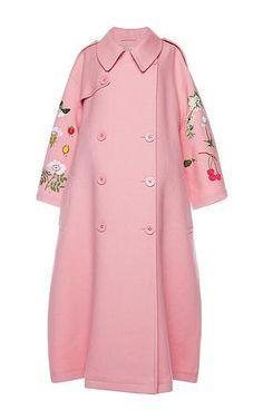 Vivetta - Pink Cotton Garden Fiore Coat