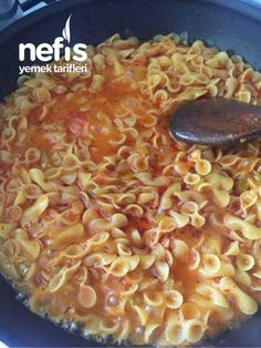 Sosuyla Beraber Pişen Makarna - Nefis Yemek Tarifleri Pasta Cooked with Sauce - Delicious Recipes, # Yummy Recipes, Best Dinner Recipes, Crockpot Recipes, Yummy Food, Pasta Recipes, Cheap Meals, Easy Meals, Italian Chicken Dishes, Marinated Tomatoes