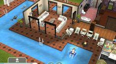 Sims freeplay house