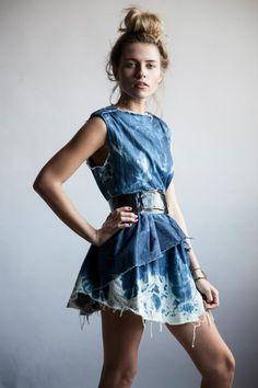 Christopher Jaydon: Wyatt Harris Photography Phashion Magazine - Denim Dress