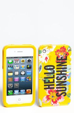 kate spade new york 'hello sunshine' iPhone 5 case available at Nordstrom