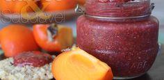 Geleia de Caqui com Frutas Vermelhas