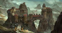 Fantasy Art Castle pictures Fantasy castle Fantasy landscape Fantasy city