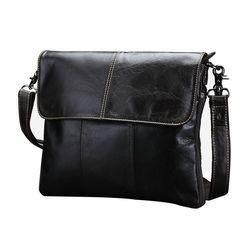 Vintage cow genuine leather messenger bags for men handbags crossbody bag oil wax leather Cheap Crossbody Bags, Crossbody Messenger Bag, Messenger Bag Men, Tote Bag, Leather Fashion, Leather Men, Cowhide Leather, Leather Bags, Fashion Men