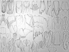 How To Draw Fashion Sketches | Retarded Velvet: Diary of a collection S/s 12
