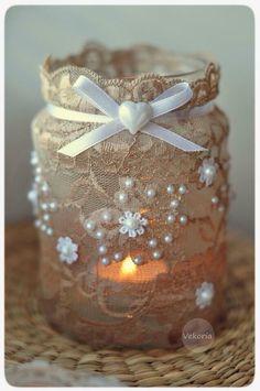 Christmas Crafts With Mason Jars Decor Mason Jar Projects, Mason Jar Crafts, Mason Jars, Diy Projects, Pot Mason Diy, Crafts To Make, Diy Crafts, Sewing Crafts, Jar Art