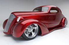 Visit The MACHINE Shop Café... ❤ Best of Hot Rod @ MACHINE ❤ (Kindig It Design '37 Buick Coupé)