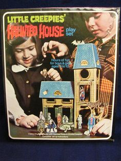 Little Creepies' Haunted House Play Set
