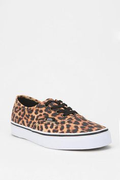 Vans Leopard Authentic Lo Pro Sneaker, $55....must have!!!