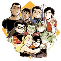 [Fan Art]Young Justice: Invasion by Sii-SENYou can find Young justice and more on our website.[Fan Art]Young Justice: Invasion by Sii-SEN Young Justice League, Young Justice Invasion, Young Justice Season 3, Young Justice Wally, Young Justice Funny, Young Justice Comic, Young Justice Characters, Billdip Comic, Cartoon Network