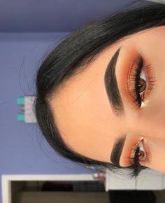 Gorgeous Makeup: Tips and Tricks With Eye Makeup and Eyeshadow – Makeup Design Ideas Makeup Eye Looks, Cute Makeup, Glam Makeup, Gorgeous Makeup, Pretty Makeup, Skin Makeup, Eyeshadow Makeup, Beauty Makeup, Huda Beauty
