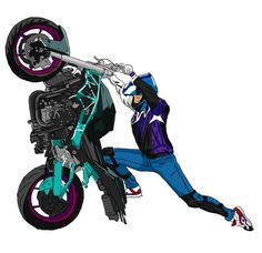Top 10 Coolest Motorcycle Ladies of 2016 - robynstunts Mustang Wallpaper, Harley Davidson Merchandise, Bicycle Safety, Stunt Bike, Cool Motorcycles, Bike Style, Bike Art, Biker Girl, Bike Life
