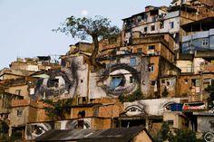 the walls have eyes JR [rio]