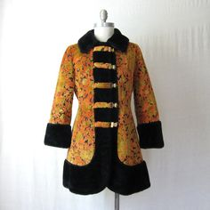 Tapestry Coat Carpet Coat Russian Princess by ultravioletvintage, $124.00