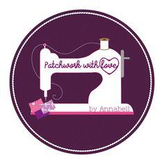 Logo-Design für Patchwork with love Grafik Design, Logo Design, Love, Scrappy Quilts, Elephants, World, Amor