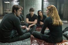 Al, Tris, Will and Christina