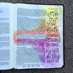 "After a very busy last couple of weeks that included our daughters first birthday + party planning and editing a family photoshoot, I actually found time to journal For the past 4 weeks i have been doing the @shereadstruth ""Open Your Bible"" 6 week study. The intro to week 4 talks about Scripture application. God gives us the Word + The Holy Spirit & it's given to us free of cost. But, it's up to us to apply them to our lives by living lives of godliness in the knowledge of him. God is w..."