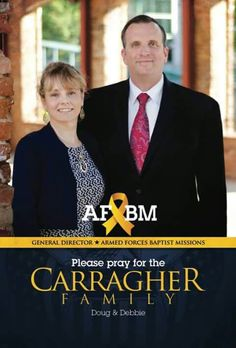 Carragher family. General director armed forces baptist missions