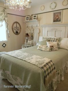 Forever Decorating!: Guest Bedroom Reveal ~ MacKenzie-Childs Style