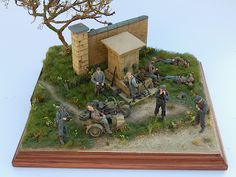 Behind Enemy Wall - Normandy Well by Noel Petroni
