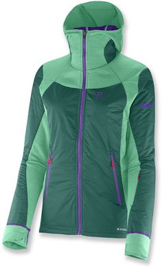 Salomon Soulquest BC Insulated Midlayer Jacket - Women's - 2014 Closeout Fun colors and lots of warmth makes this a great gift idea.